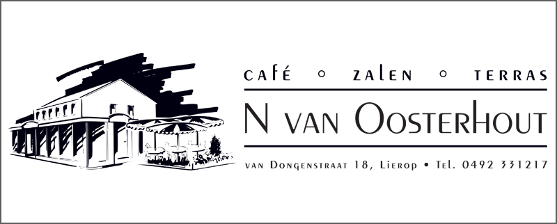 Cafe Zaal Terras van Oosterhout